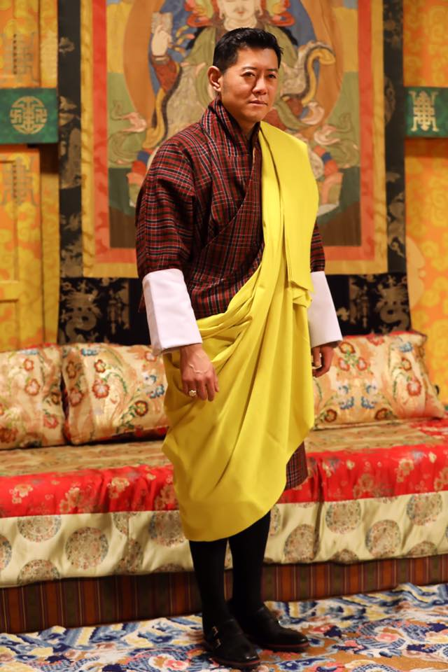 king of bhutan at 40