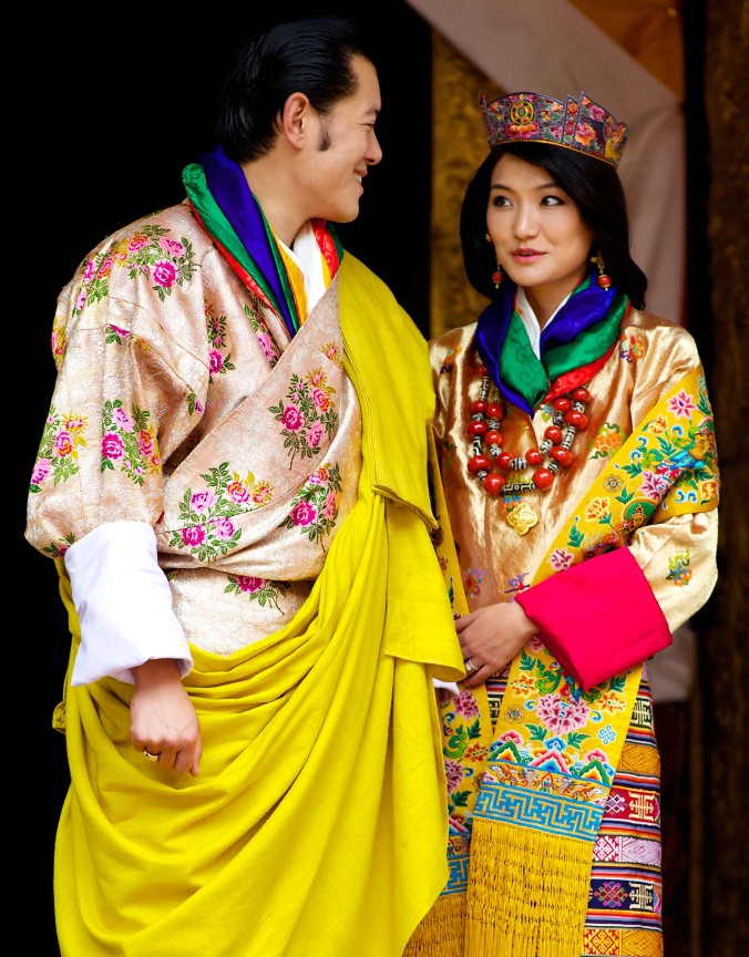 king of bhutan wedding