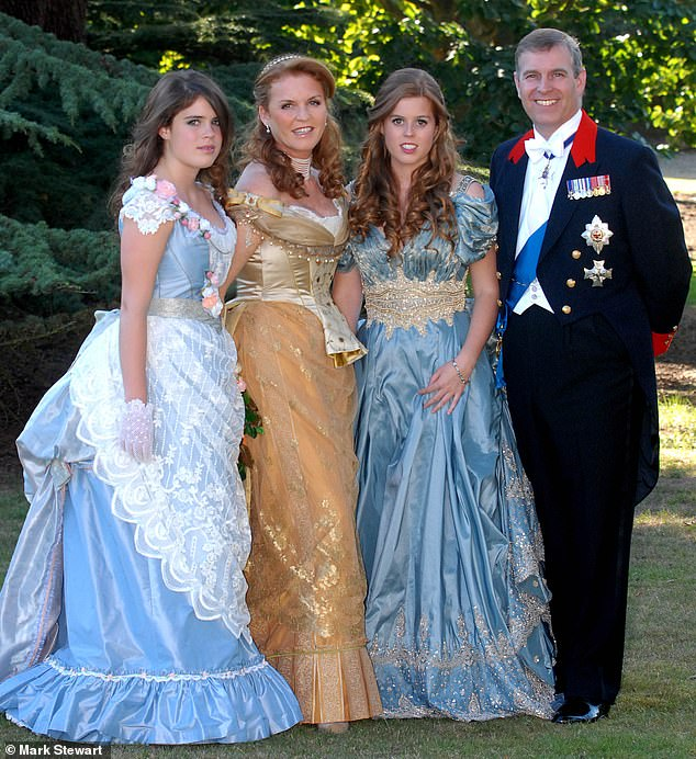 prince andrew at 50