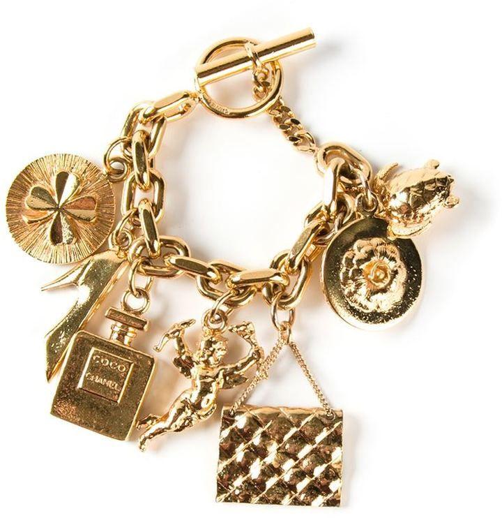 chanel charms bracelet