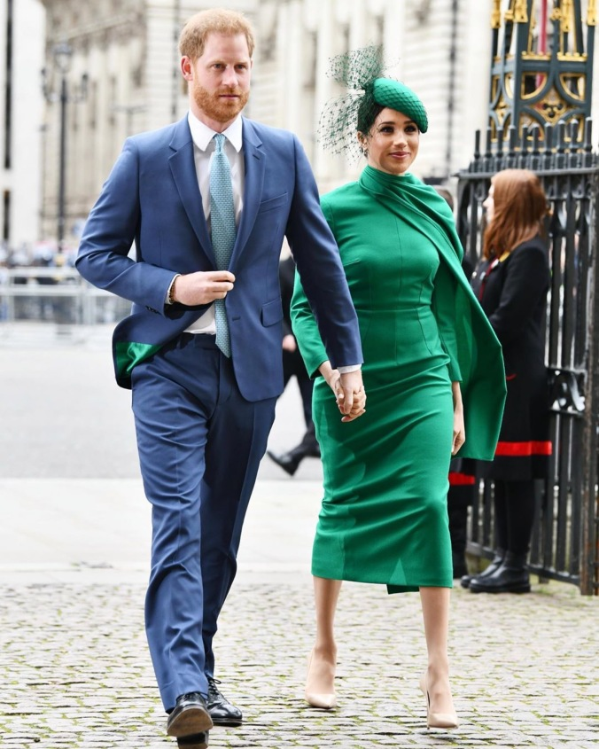 meghan in green