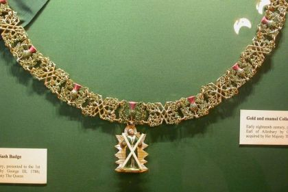 order of the thistle collar