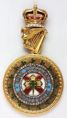 order st patrick badge