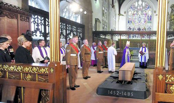 Richard III reburial service
