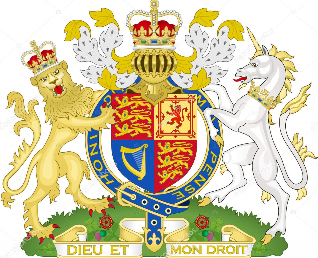 royal coat of arms uk