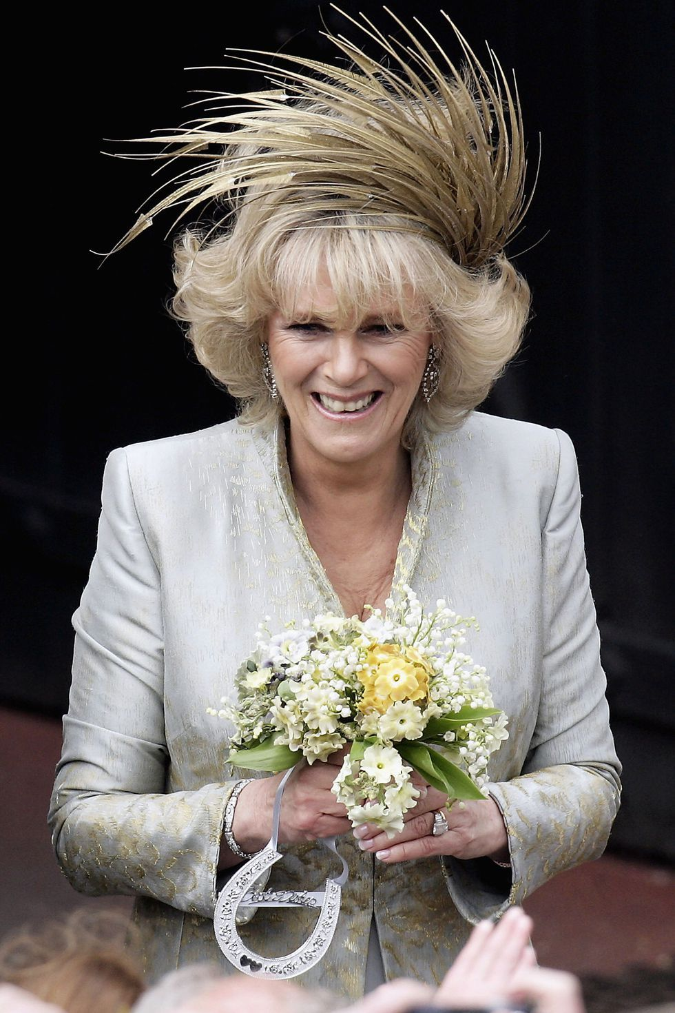 camilla wedding hat