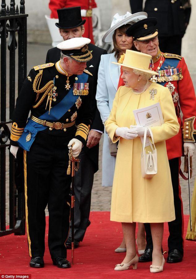 2011 royal wedding the queen