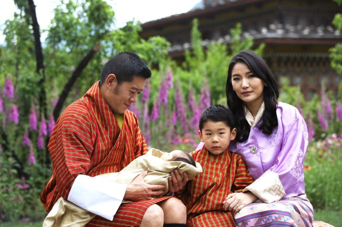 bhutan royal family