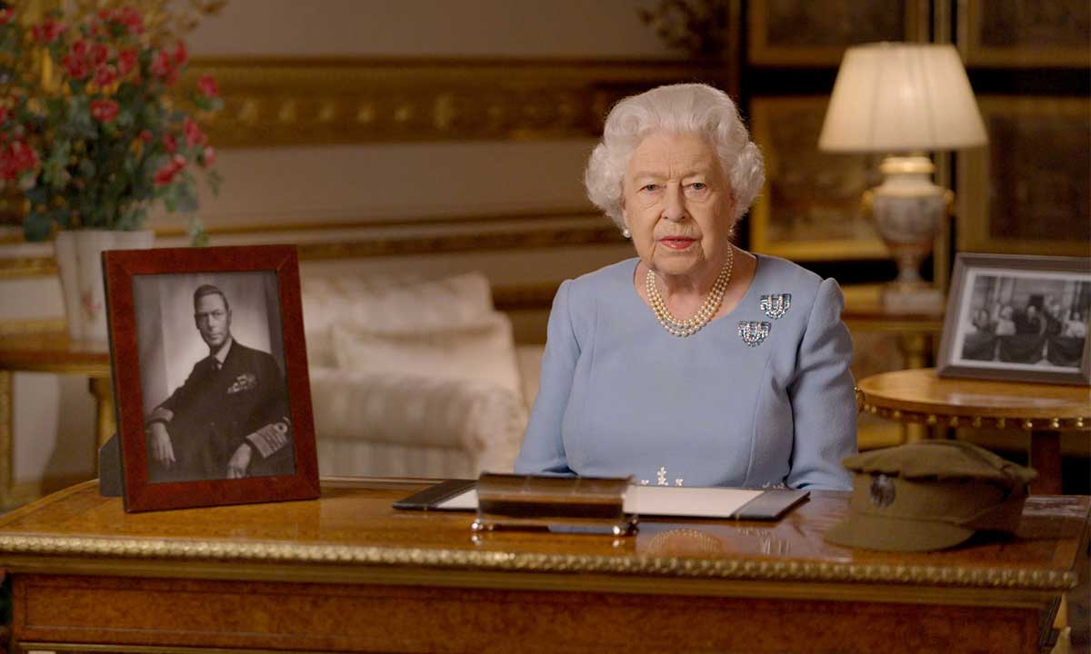 the queen ve day speech