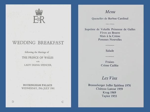 wales wedding breakfast menu