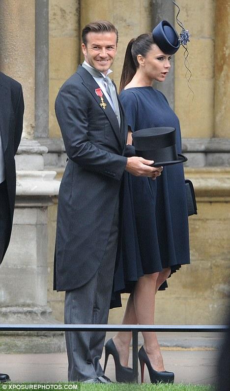 2011 royal wedding beckham