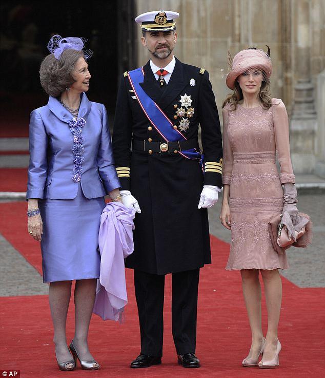2011 royal wedding spain