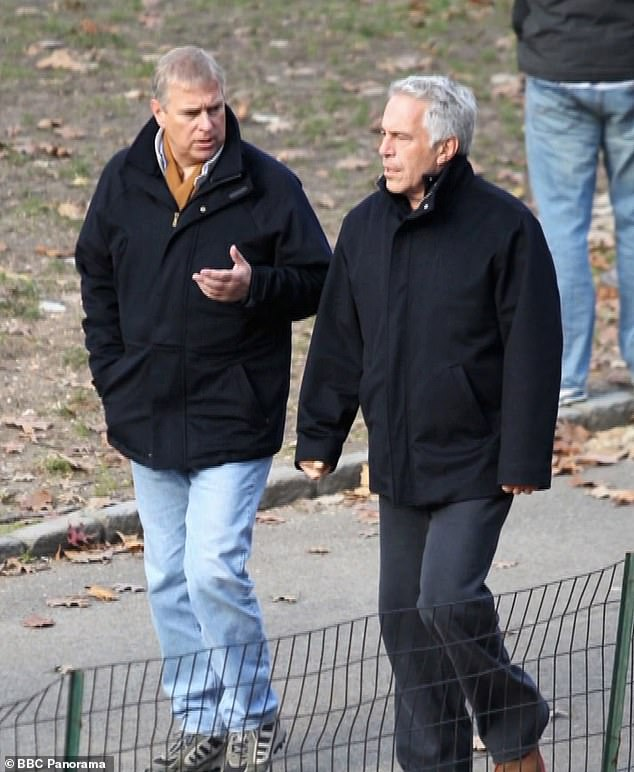 Duke of York, Jeffrey Epstein