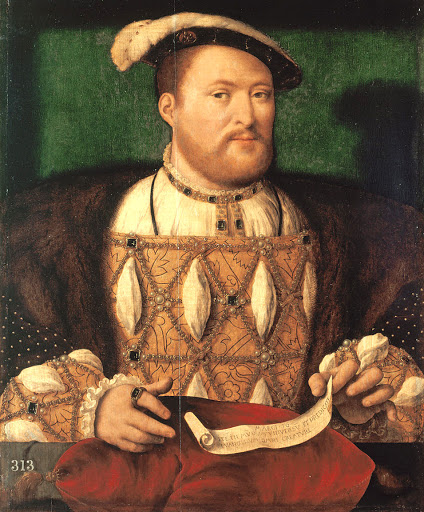henry viii young portrait