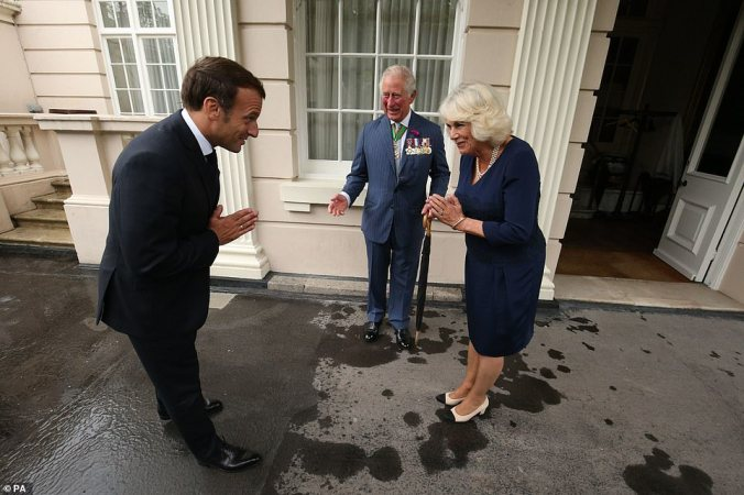 macron wales clarence house