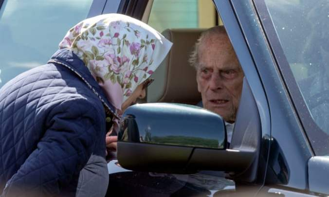 prince philip car crash the queen