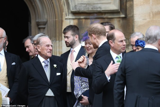 prince philip lady gabriella wedding