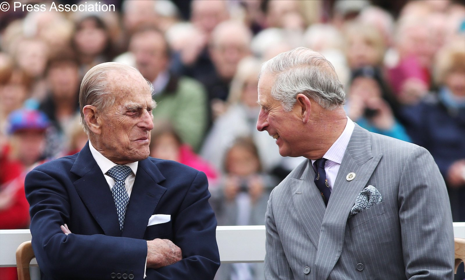 prince philip with charles
