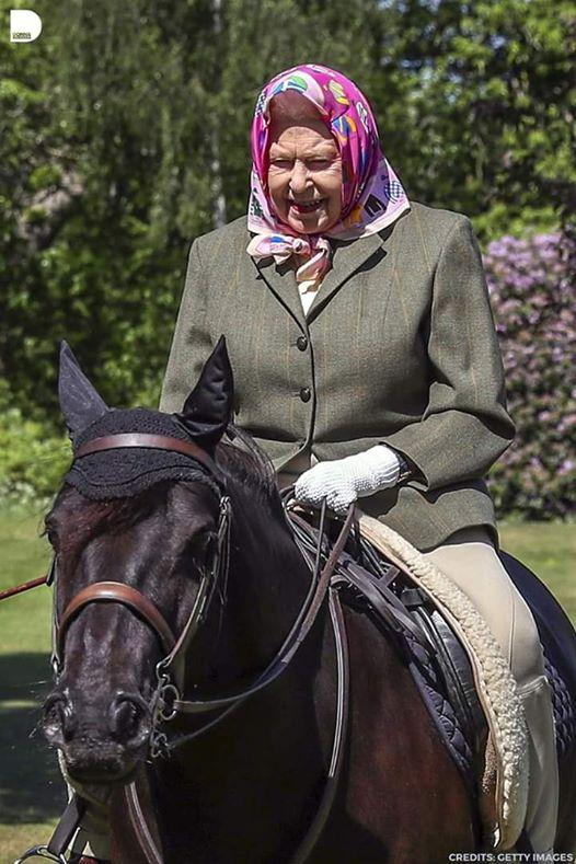 queen elizabeth riding