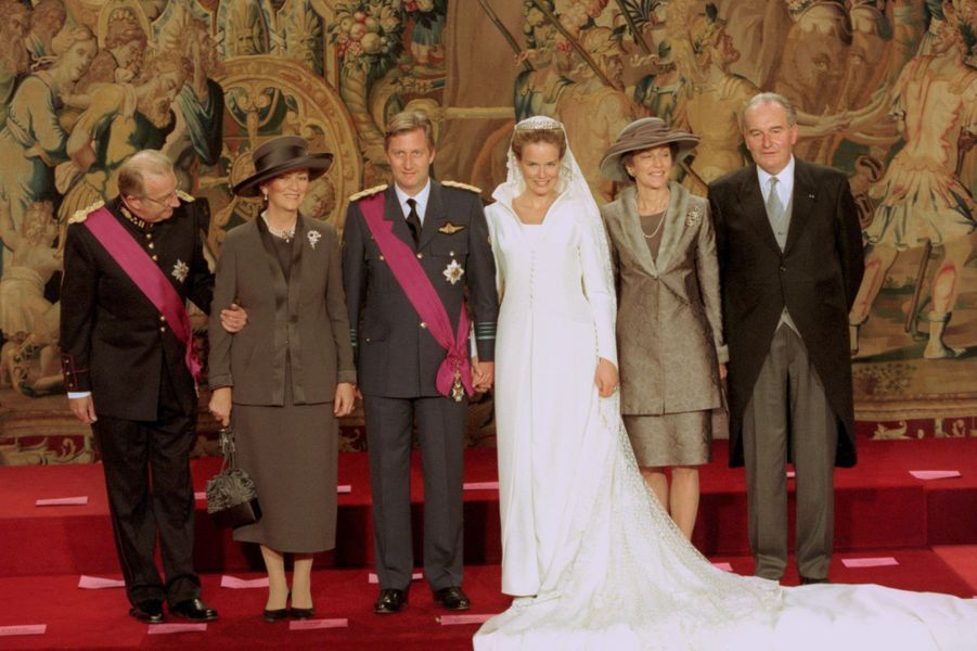 belgium royal wedding parents